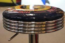Adjustable GarageBar Stool Golden Fleece Motor Spirit