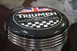 Adjustable GarageBar Stool Triumph Motorcycles