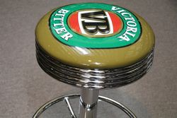 Adjustable GarageBar Stool Victoria Bitter VB