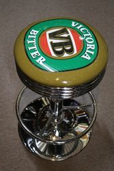 Adjustable GarageBar Stool Victoria Bitter VB