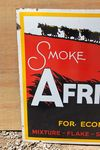 Afrikanda Tobacco Pictorial Enamel Advertising Sign