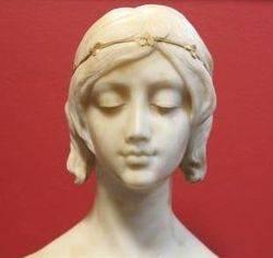 Alabaster Bust