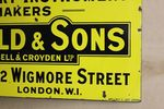 Antique Arnold + Sons Veterinary Enamel Sign