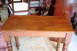 Antique Australian Cedar Hall Table