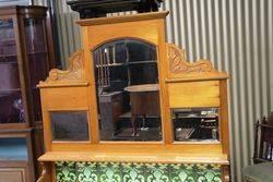 Antique Australian Marble Top Washstand