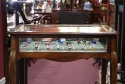 Antique Bijouterie Collectors Cabinet