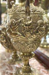 Antique Bronze 3Piece Garniture C1850