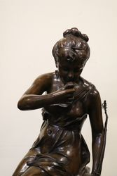Antique Bronze Female Figure Sourceby Ledieu