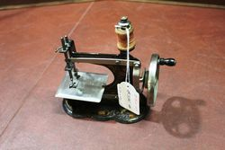 Antique C1900 Casige 1A Toy Sewing Machine