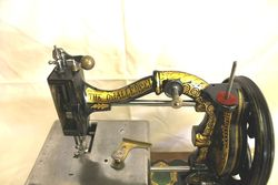 Antique Challenger Sewing Machine