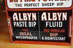 Antique Coopers Sheep Dip Enamel Sign Arriving Nov