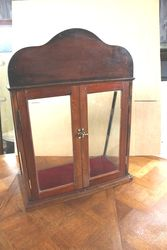 Antique Crown Perfumery Shop Cabinet