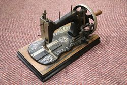 Antique Fiddle Base Sewing Machine