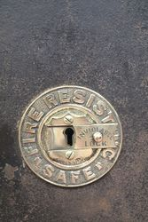 Antique Fire Resisting Safe