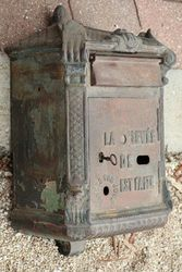 Antique French Letter Box