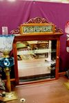Antique Front Loading Perfumery Display Cabinet