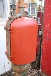 Antique GandB T8 Manual Petrol Pump