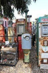 Antique Gilbert + Barker T8 Petrol Pump