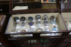 Antique Glass top Display Cabinet