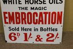 Antique Goddards Farming Advertising Enamel Sign