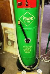 Antique Hammond Visible Manual Petrol Pump