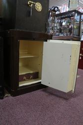 Antique Heavy cast iron Safe Hobbs and Co Cheapside London