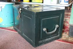 Antique Iron Storage Box