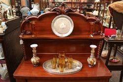 Antique Mahogany 2 Door Chiffonier