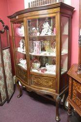 Antique Mahogany Display Cabinet