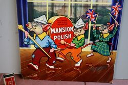 Antique Mansion Polish Pictorial Showcard
