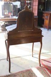 Antique Marble Top +Mirror Back + 3 Drawer Lady Dresser