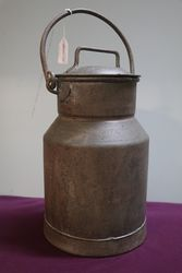 Antique Milk Churn + Cover From Cornwall
