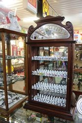 Antique Murattis Cigarettes Shop Cabinet