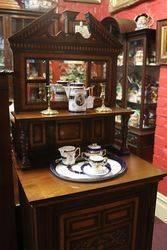 Antique Music Parlor Cabinet