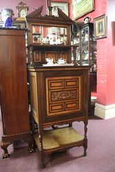 Antique Music Parlor Cabinet