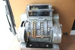 Antique National Crank Handle  Cash Register