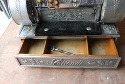 Antique National Crank Handle  Cash Register