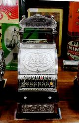 Antique National Sweet Shop Cash Register