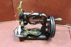 Antique New England Short Version Sewing Machine C1865