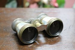 Antique Opera Glasses In Original Case