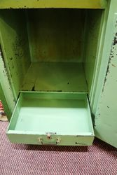 Antique Phillips + Son Metal Safe