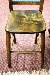 Antique Restu Shop Advertising Chair
