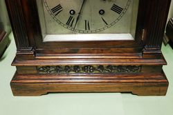 Antique Rosewood Mantle Clock