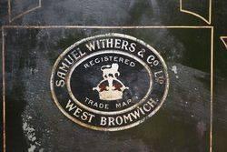 Antique Samuel Withers 7 Co Ltd West Bromwich Safe