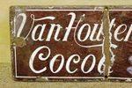 Antique Small Van Houtens Enamel Sign