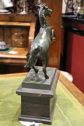 Antique Spelter Horse Figure