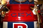 Antique Superbly Restored GEX Manual Petrol Pump
