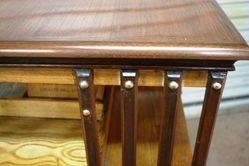Antique The American Patent Walnut Revolving Bookcase
