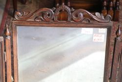 Antique TriFold Mirror