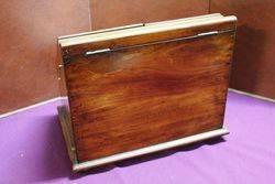 Antique Walnut Desk Top Companion